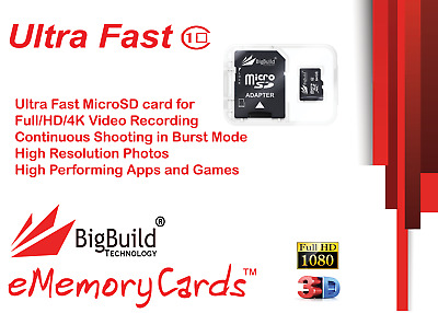 8GB MicroSD Memory card for Lenovo IdeaPad 300 10 tablet