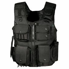 New! Leapers Inc. UTG Law Enforcement Tactical Vest, Black Model: PVC-V548BL
