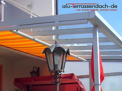 Fein Alu-terrassendach-de Terrassenüberdachung Aluminium Vsg Komplett Mit Beschattung