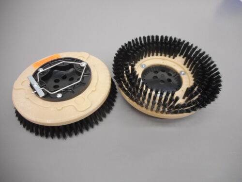 """Tennant Nobles 1025095 SS5 12/"""" Floor Scrubber Poly Brushes .030 Set 2"""