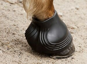 Acavallo-Gel-HOOF-BOOTS-Over-Reach-Shoe-Coverage-Heel-amp-Bulb-Protection-Cob-Full