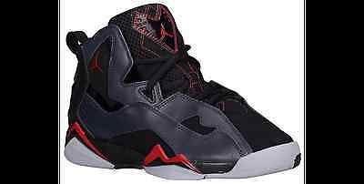 newest aa67b c17eb 343795-002 Nike Air Jordan True Flight GS Blk/Red-Anthracite-Grey Sizes 4-7  NIB   eBay
