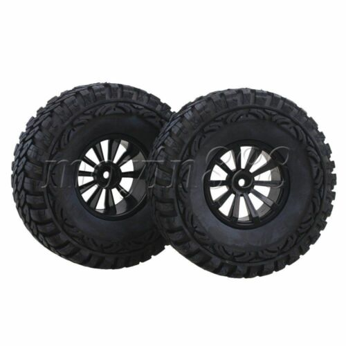 """4pcs RC 1.9/"""" roues pneus 1//10 à chenilles pour Losi Rock Rey Night Crawler"""