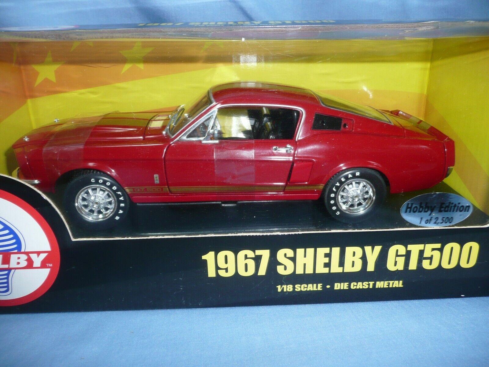ERTL AMERICAN MUSCLE SHELBY SHELBY SHELBY GT500 1 18 024fe0