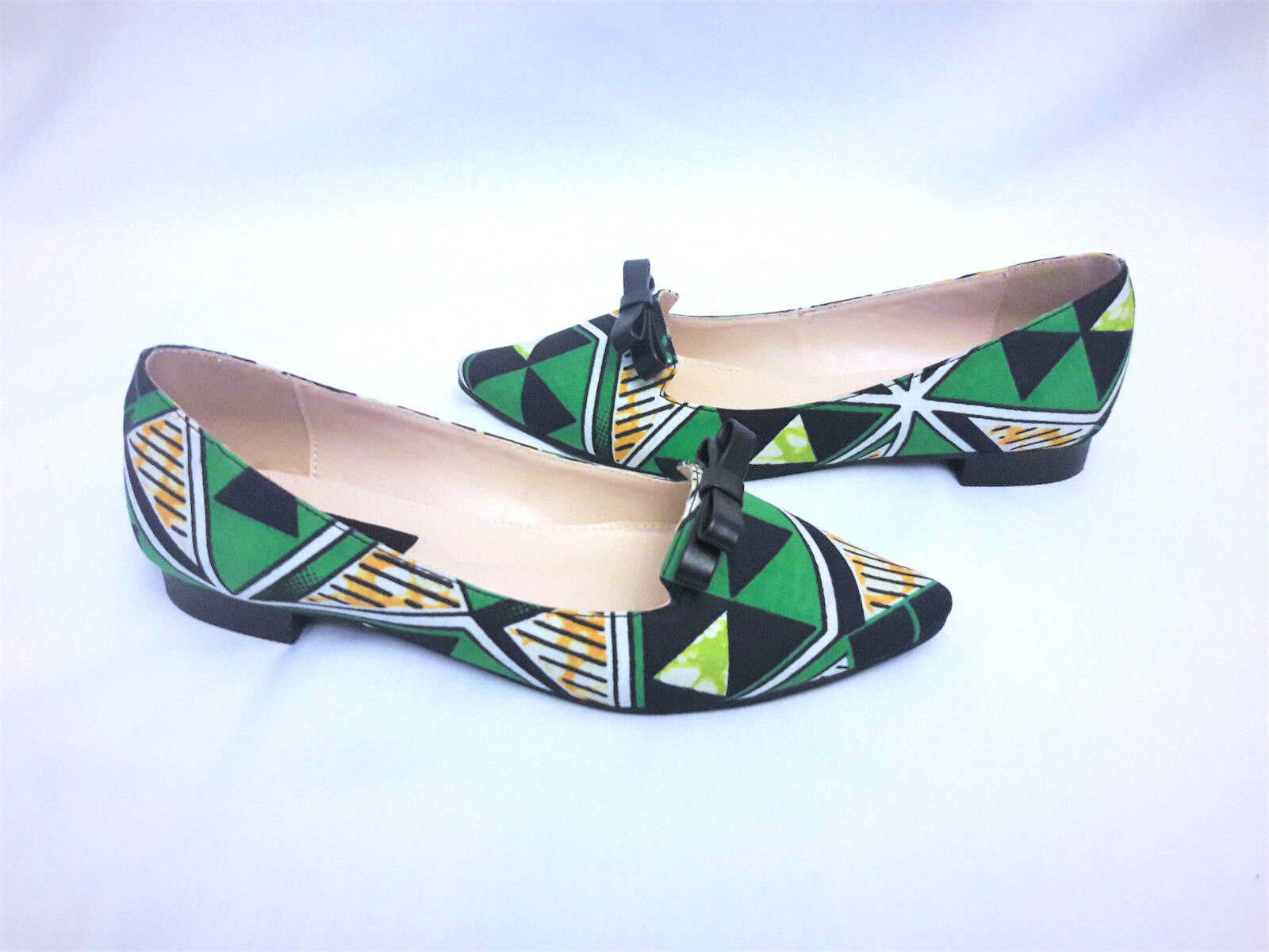 Women's shoes African Print Ankara UK Size 3,4,5,6,7,8
