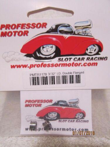 PROFESSOR MOTOR 3//32 I.D DOUBLE FLANGED AXEL BUSHINGS