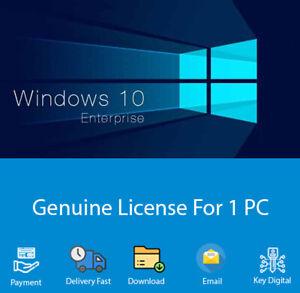 Windows 10 Enterprise 32/64 bit Product Key For Activation ...