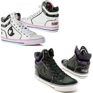 Baby Phat Milan Cat High Top Trainers