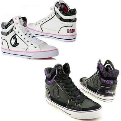 sale retailer wide varieties run shoes Baby Phat Milan Cat High Top Trainers, Designer Basket Ball Shoes, Women,  Ladies | eBay