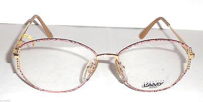 Sportivo Glasses Vintage Made In Italy Occhiale Vista Lunettes L'amy Gislaine F Cm21 L844