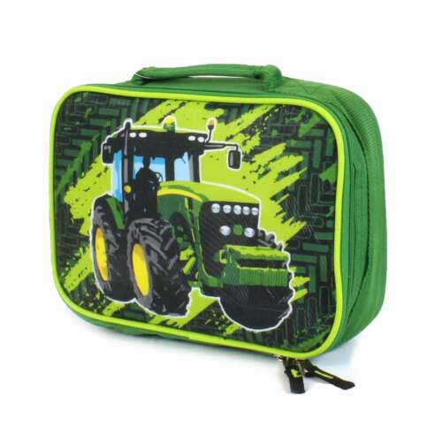 John Deere Tractor Green Child/'s Kid/'s Backpack Lunchbox NWT J2L339GC