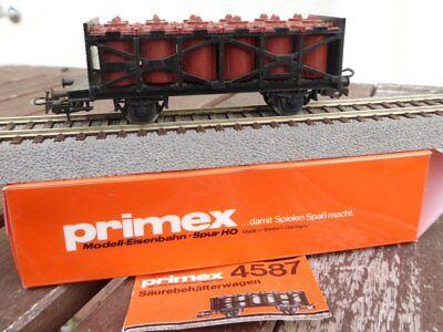 Bene Primex 4587 Acido Pentola Il Coraggio Db Ep. 4 In, Per H0, Raro ,usato,vagone 2 Rapida Dissipazione Del Calore