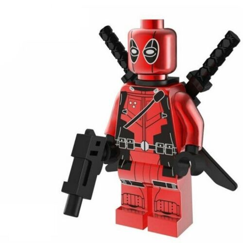HOT MODEL LIMITED DEADPOOL CHROME MINIFIGURE SERIES LEGO Moc C3P0 2020  MR GOLD