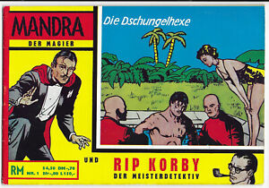Mandra-und-Rip-Korby-Nr-1-von-1965-TOP-Z1-ORIGINAL-COMICHEFT