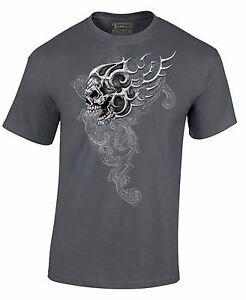 Men-039-s-Skull-Shirt-Day-Of-Dead-Dia-De-Los-Muertos-T-Shirt