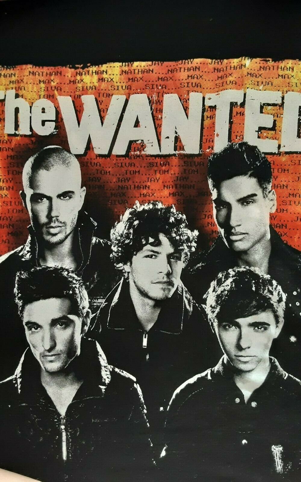 The Wanted Tote Bag Official Merchandise