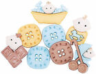 VAT Dress It up Blue Baby Boy Fun 6 Buttons Sewing Crafting Cardmaking 5196