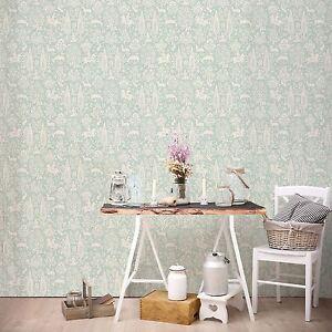 Archivos-Bosque-Papel-pintado-Huevo-De-Pato-CROWN-M1166-Floral-Flores