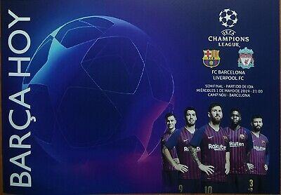 Liverpool V Barcelona Jurgen Klopp Champions League Semi Final 2019 Poster 4