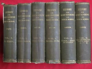 1901-HISTORY-FOR-READY-REFERENCE-AND-TOPICAL-READING-LARNED-6-VOLs-MAPS
