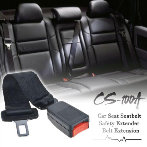 "Universal 14/"" Car Seat Seatbelt Safety Extender Belt Extension 7//8/"" Buckle"