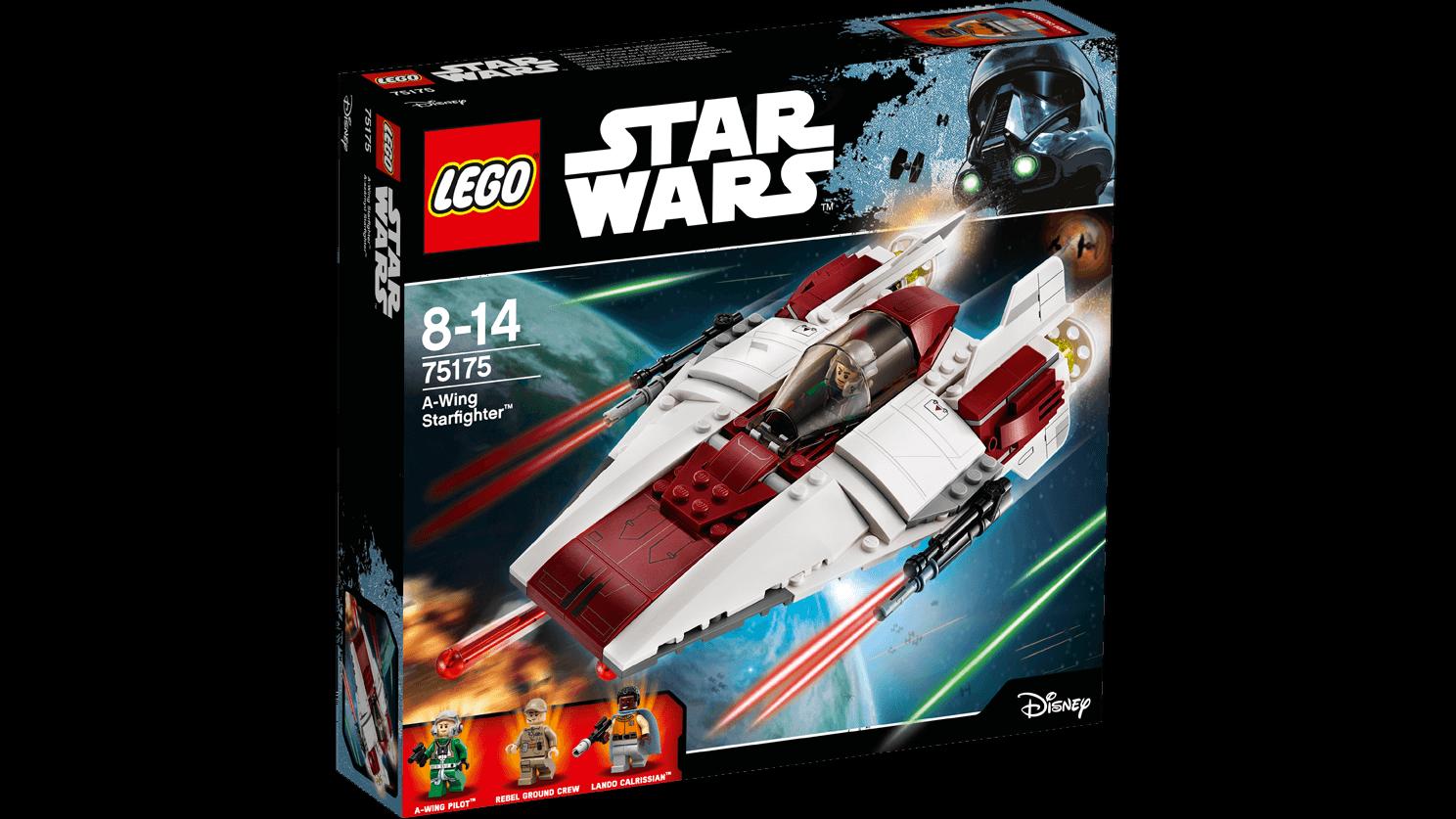 LEGO 75175 estrella guerras SET - A-WING estrellaFIGHTER -   NUOVO    risparmiare fino all'80%