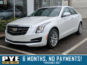 2018 Cadillac ATS Luxury AWD - 6 MONTHS, NO PAYMENTS! *OAC