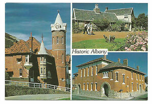 WA-c1970s-POSTCARD-OLD-POST-OFFICE-amp-COURTHOUSE-ALBANY-WESTERN-AUSTRALIA