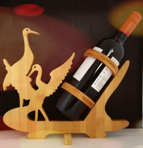 titulaire de vin bambou titulaire artisanat fait main cadeau Bouteille vin bambou naturel rack