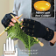 Arthritis-Gloves-Fingerless-Copper-Hands-Compression-Medical-Support-Therapeutic thumbnail 5