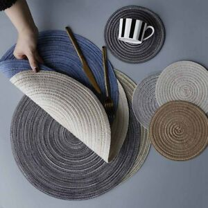 Round Coffee Table Mat 10