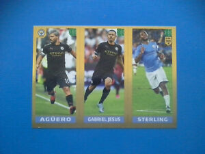 Figurine-Panini-Fifa-365-2019-20-2020-n-56-Aguero-Gabriel-Jesus-Sterling