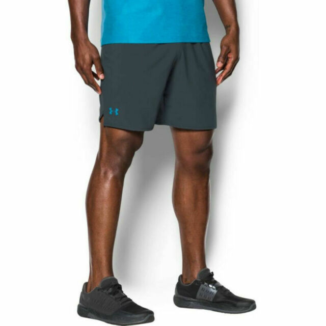 """NWT Mens Under Armour Qualifier Woven Shorts 9/"""" Inseam Style # 1277142"""