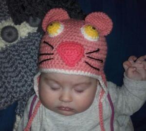 Cappellino Paraorecchie Bimba Neonata Invernale Alluncinetto Ebay