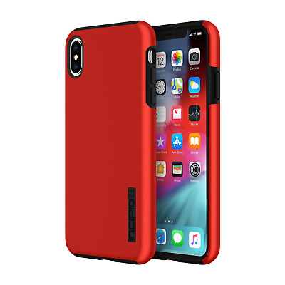 Incipio DualPro Case Apple iPhone Xs/X iridescent rot/schwarz