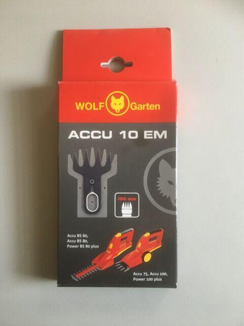 WOLF-GARTEN Ersatz-Scherenblatt Accu BS 60 Ersatzmesser Akkuschere ***NEU***