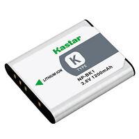 1x Kastar Battery For Sony Np-bk1 Type K Cybershot Dsc-s780 S980 W190 Mhs-cm5