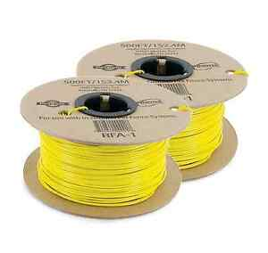 20 Ga Heavy Duty Solid Insulated Copper Fence Wire Two