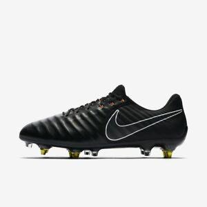 fab99f5b2 New Nike Tiempo Legend 7 VII Elite SG-Pro AC Black Orange Size 9.5 ...