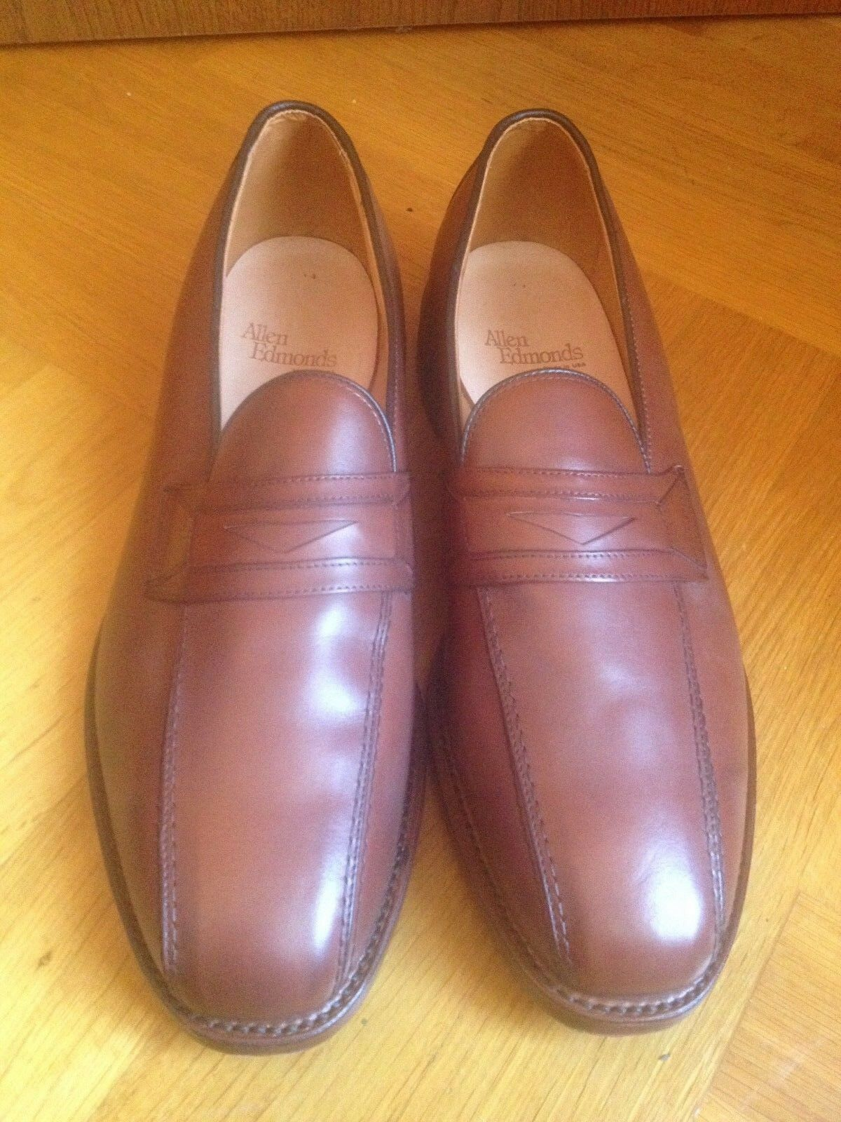 Allen edmonds zapatos caballero mocasín Business cuero Color cognac 12 d  46