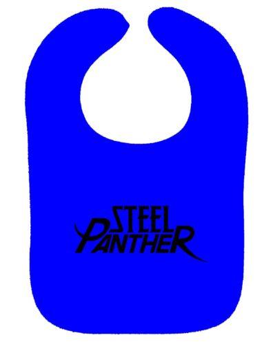 Steel Panther Babero Dribble en todo lo que puede comer Rock Música Banda Asst Colores Nuevo