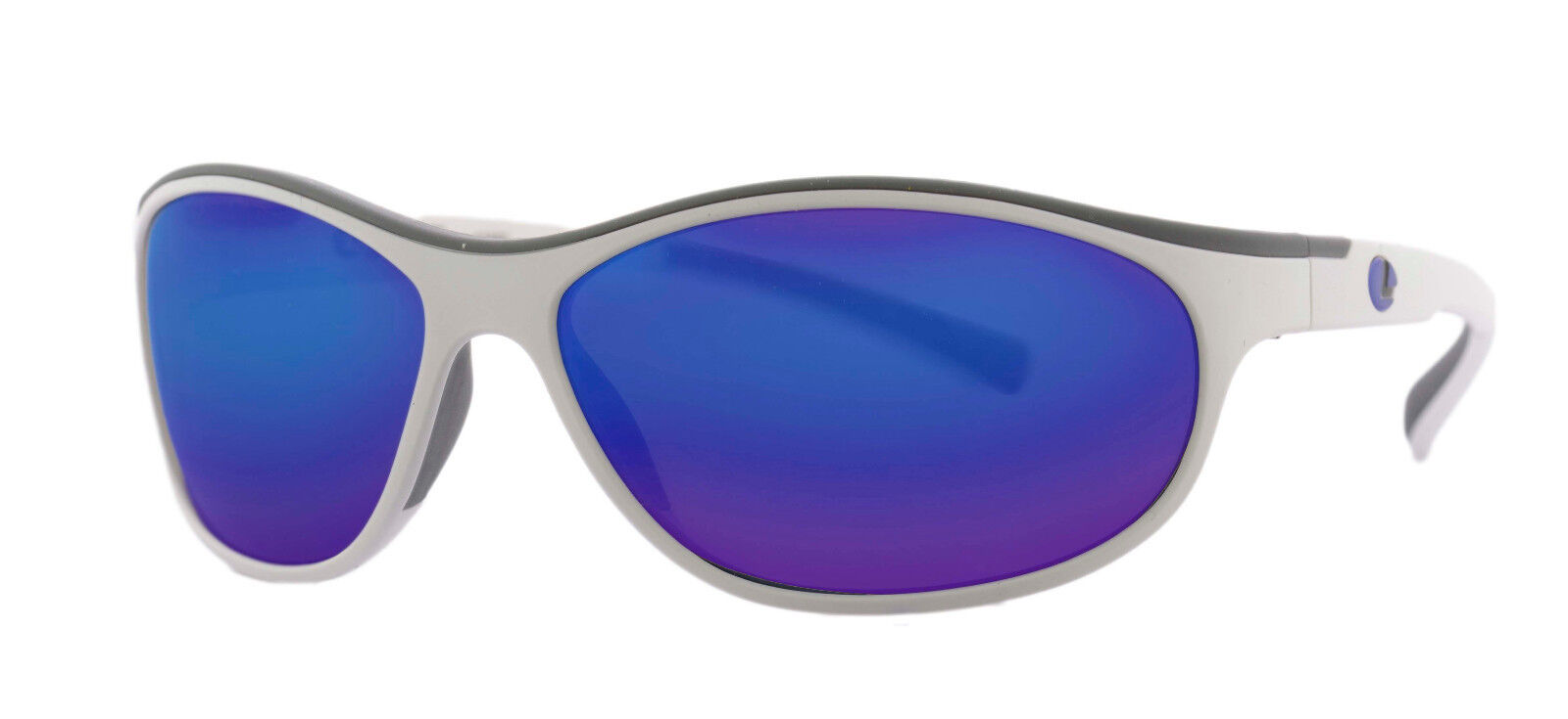 Lenz Optics Discover Coosa White Gunblueemirrorlens Polarized Glasses 53880