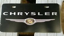 Chrysler license plate