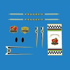 Peugeot Bicycle Frame Stickers - Decals - Transfers - n.157