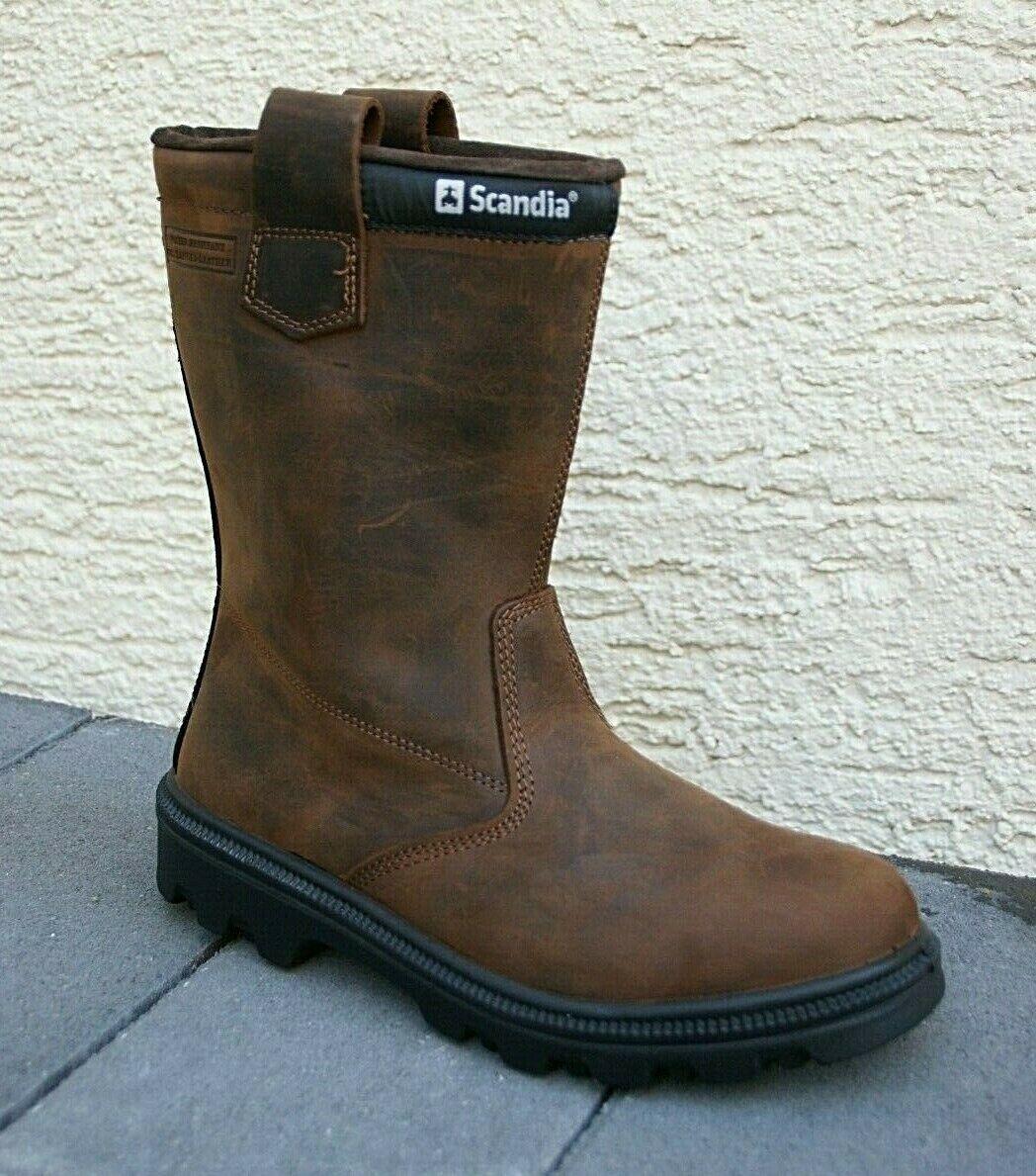 Scandia Raider 55737 S3 Sicherheitsschuhe Arbeitsschuhe Stiefel Rigger Boots Agrar, Forst & Kommune Arbeitskleidung & -schutz