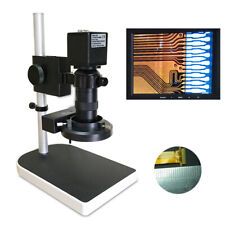 1080p Hd Digital Microscope Industry Video Inspection Camera Set Stand Ups 16mp