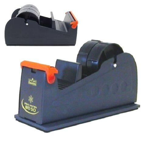 50mm Brand New Heavyweight Packing Tape Desktop Bench Dispenser Dark Blue d743
