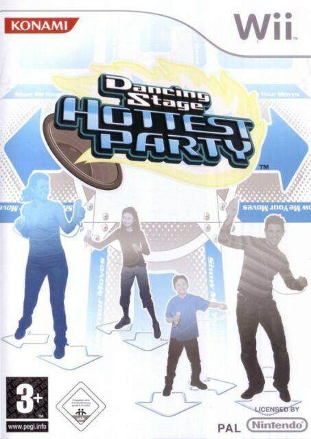 Wii - Dancing Stage: Hottest Party seulement Software dans l'emballage utilisé
