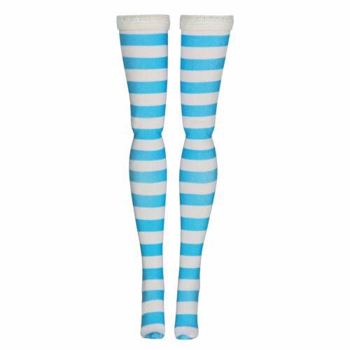Stripe Doll Stockings for Volks 1//6 Scale Dollfie Huret Gildebrief