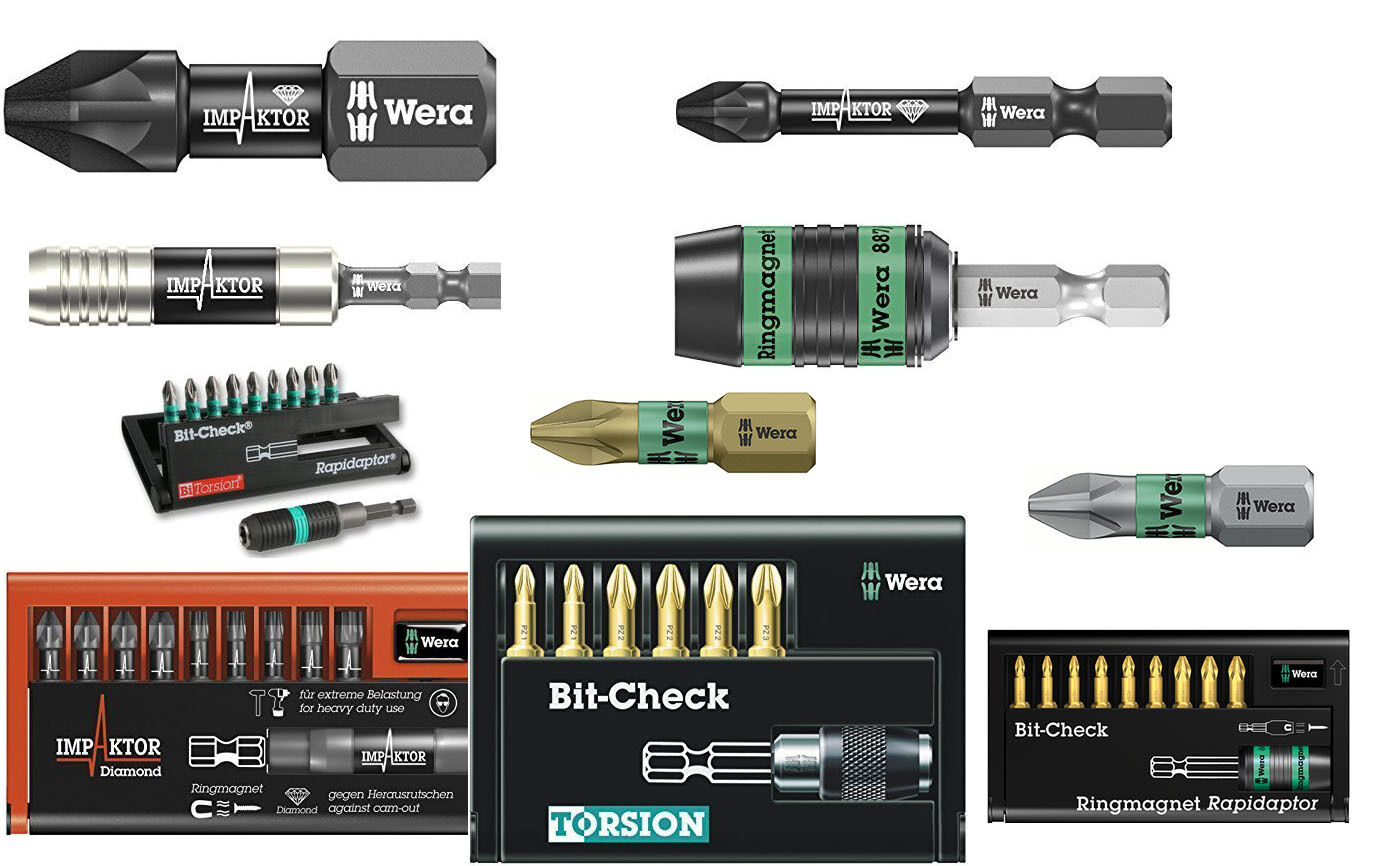 BOSCH PH RANGE LONG LIFE 25 /& 49 mm PZ1 PZ2 PZ3 MAX GRIP PACKS OF 3